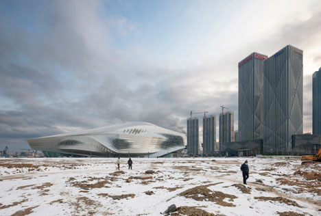 Runner-up: Dalian International Conference Center by Coop Himmelb(l)au - photographed by Duccio Malagamba
