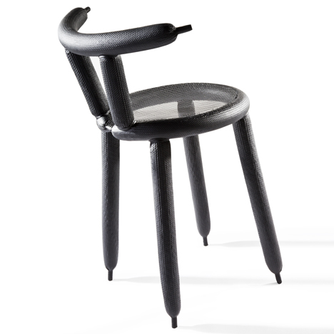 chair with balloons office for lower back pain carbon balloon lightweight design by marcel wanders dezeen