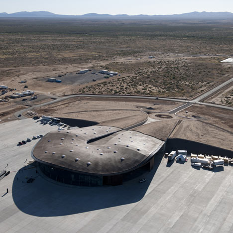 Foster + Partners built a spaceport in New Mexico