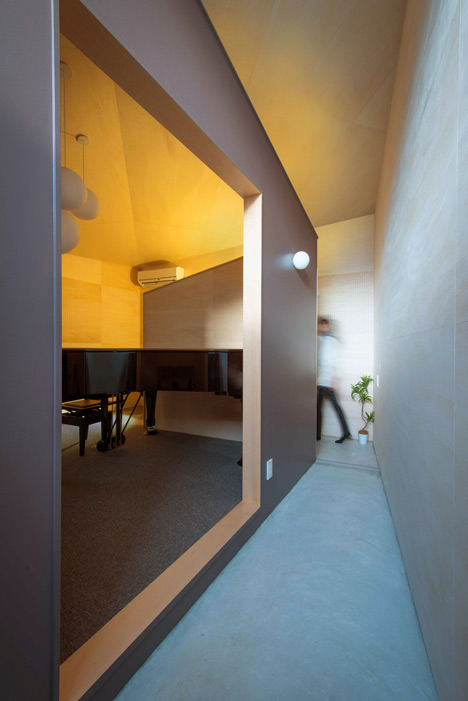 Piano House by NICo Architects offers a spot for making music
