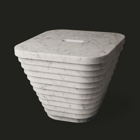 40x40 collection by Paolo Ulian and Moreno Ratti Layer stool