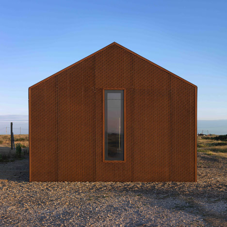 ultra modern minimalist beach house