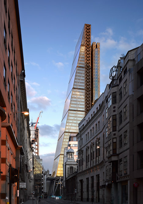 Richard Rogers top 10 architecture projects: The Leadenhall Building by Rogers Stirk Harbour + Partners