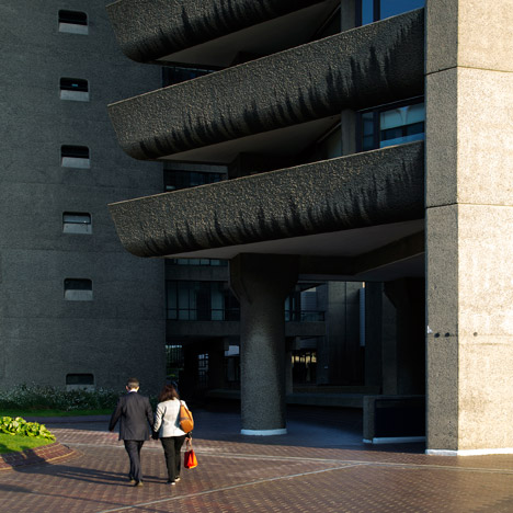 Barbican Estate by Chamberlin, Powell and Bon