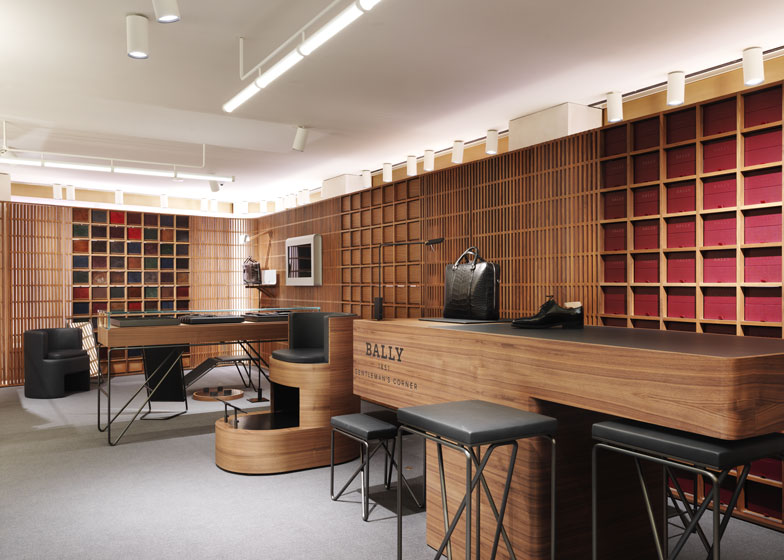 David Chipperfields flagship store for Bally opens in London