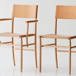 Madonna Of The Chair Vinyl Lounge Chairs David Ericsson Revels In Beech To Create For Garsnas
