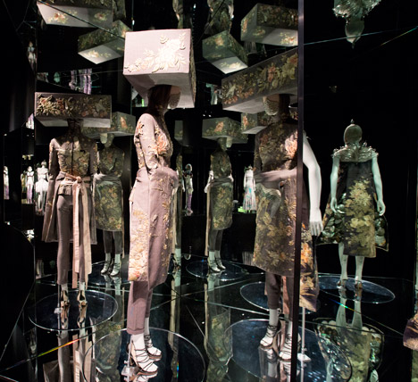 Alexander McQueen Savage Beauty exhibition at VA London
