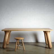 Big Foot dining table by Daast