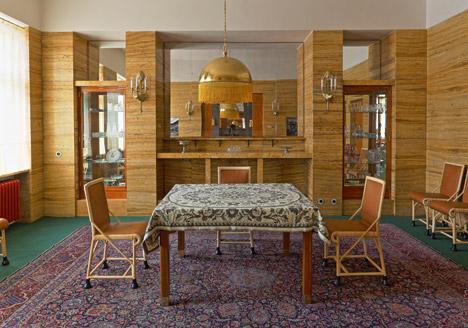 Restored Adolf Loos interiors open to the public in Pilsen