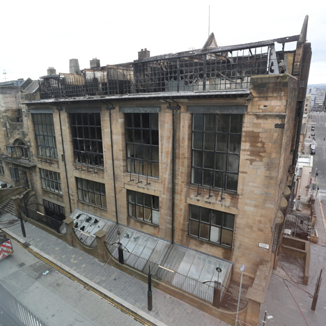 Page\Park appointed to restore fire-damaged Glasgow School of Art
