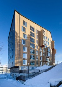 OOPEAA completes Finland's first high-rise wooden ...