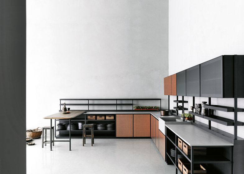 Patricia Urquiolas Salinas kitchen for Boffi