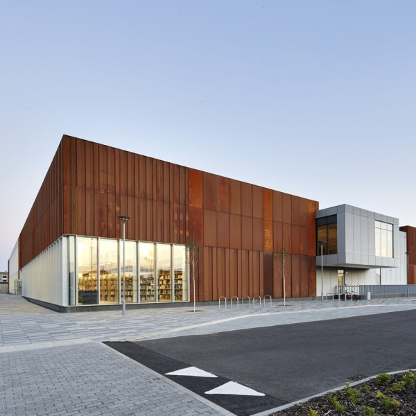 Weathering Steel Buildings Dezeen