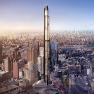 Super-tall tower in Brooklyn by SHoP Architects