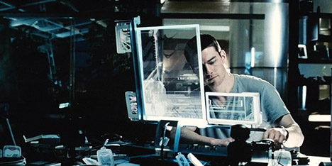 Minority Report made todays technology possible says