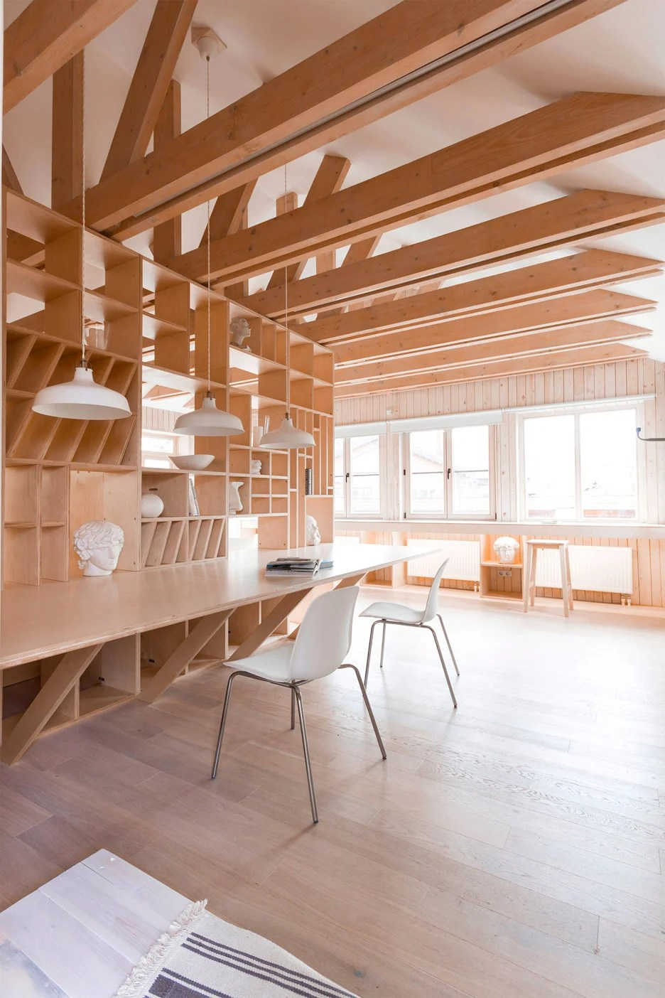 Artists studio by Ruetemple is designed in a single