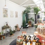 Epicentro Fills Sao Paulo Flower Shop With Vintage Furniture