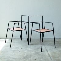 Alpina furniture by Ries is made from thin steel shapes ...