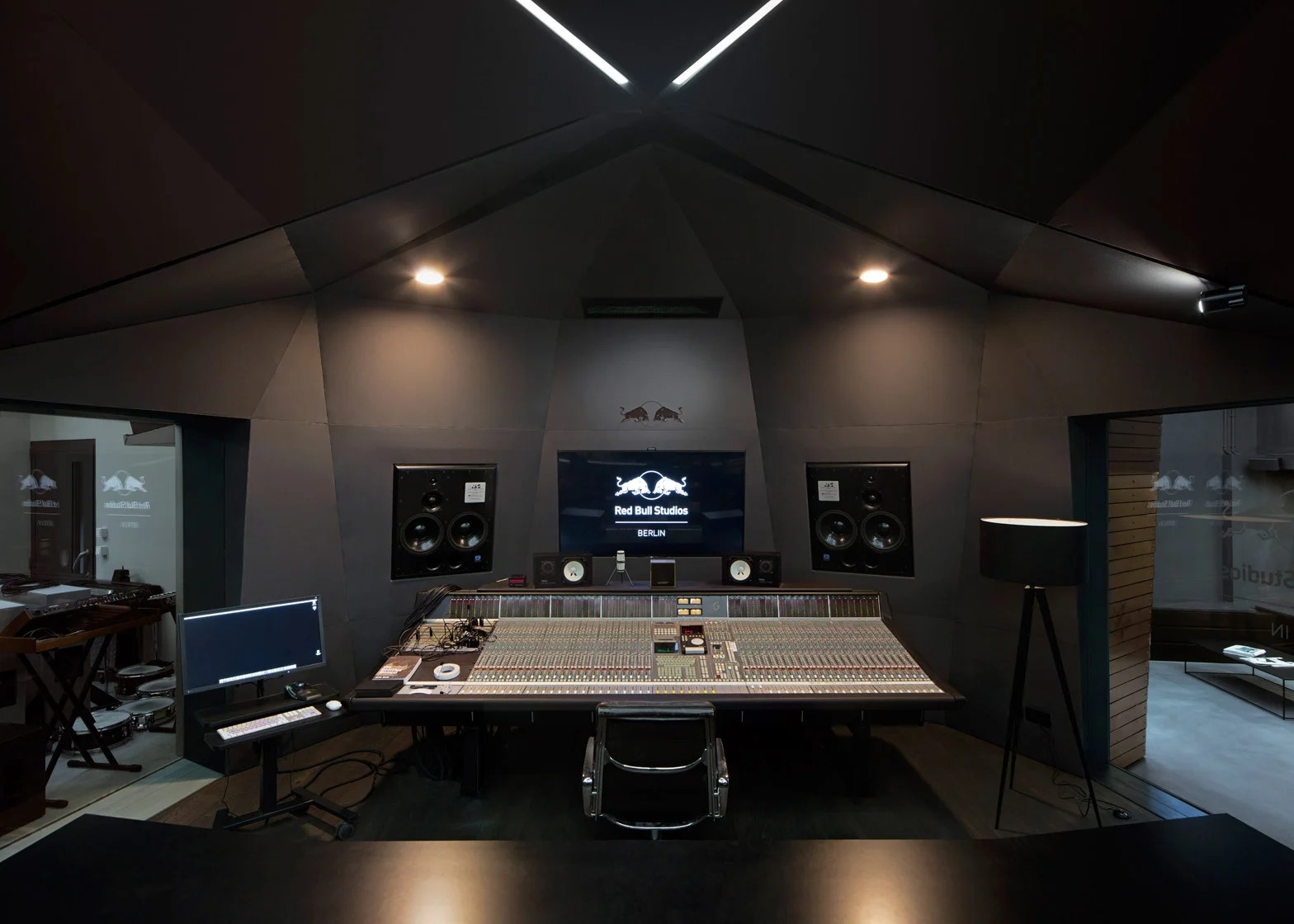 Red Bull music studio created within old Berlin power station