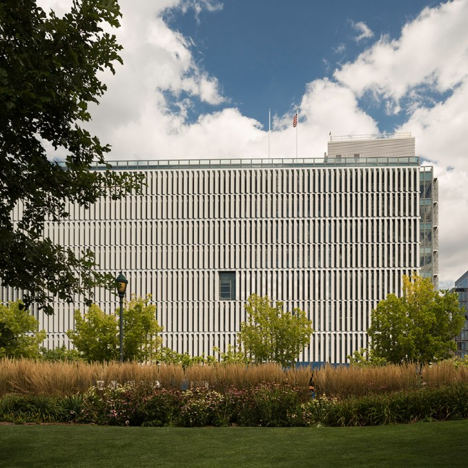 New York sanitation facility by Dattner and WXY