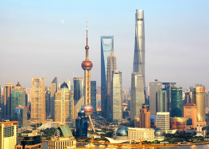 World's second-tallest building completed in Shanghai