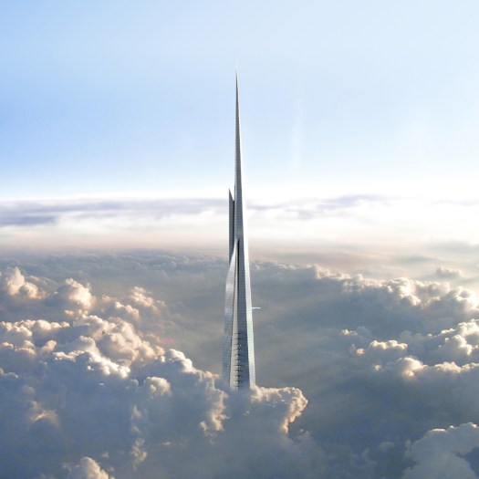 The Kingdom Tower by Adrian Smith and Gordon Gill Architecture