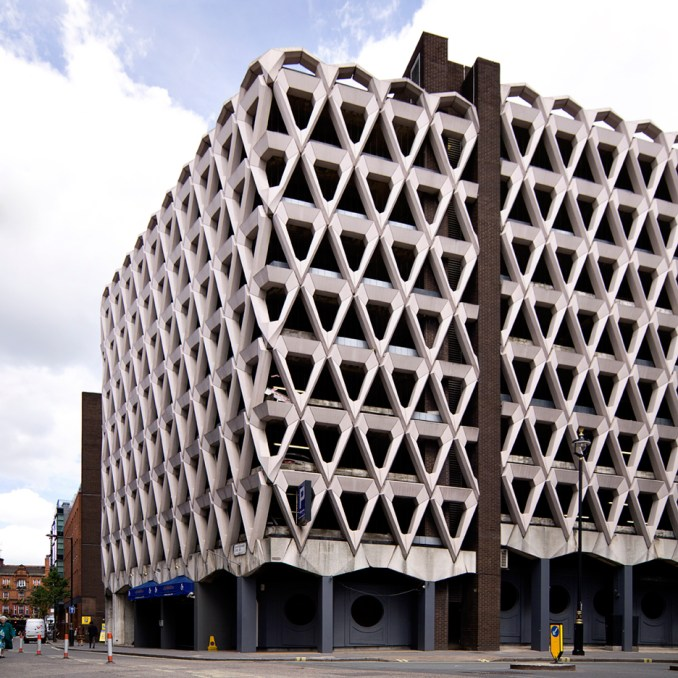 "London car park of ""sublime beauty"" at risk of demolition"