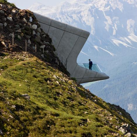 Messner Mountain Museum by Zaha Hadid