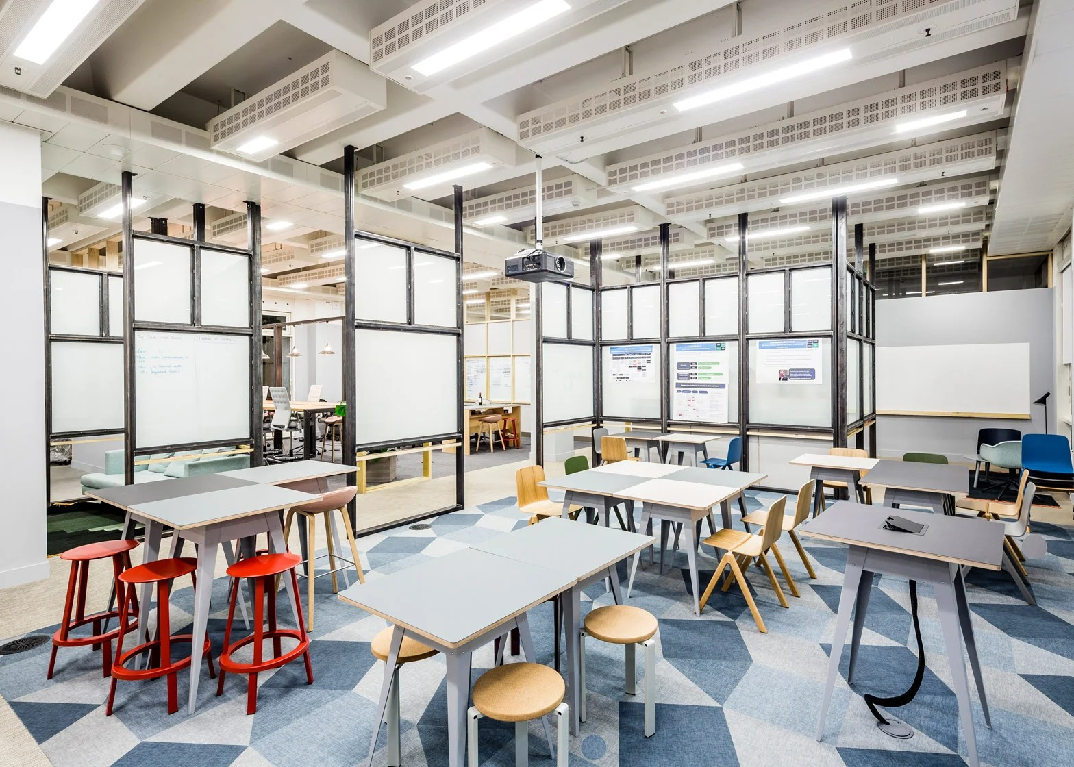 APA designs raw collaborative office space for Barclaycard