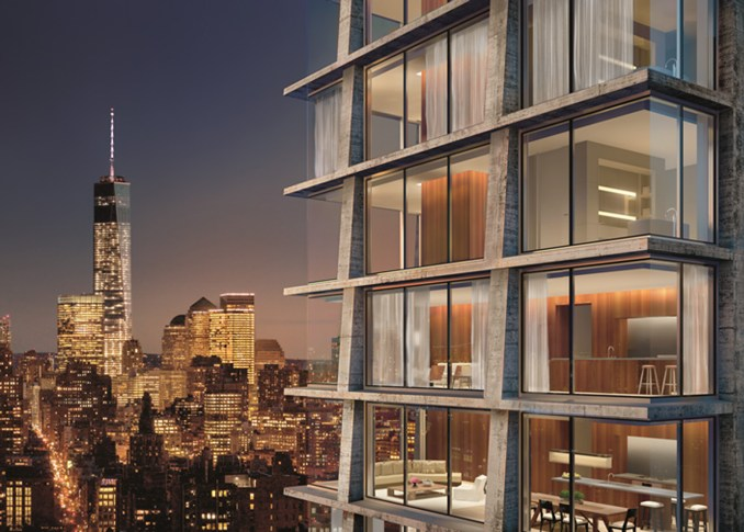 215 Chrystie in New York City by Ian Schrager
