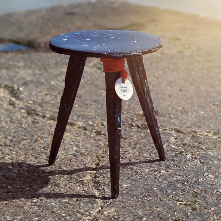 chair leg fishing floats heywood wakefield dogbone chairs open source sea by studio swine dezeen magazine