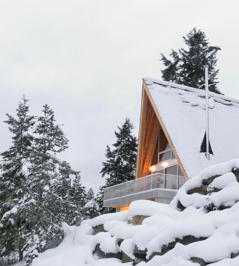Whistler Cabin A-Frame Design