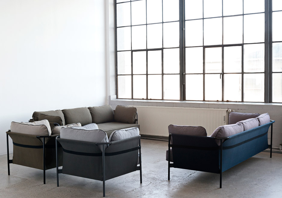 hay sofa kvadrat full size sleeper dimensions bouroullec brothers design flat pack can for