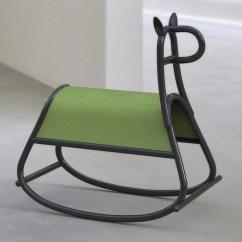 Horseshoe Rocking Chair Allsteel Task Front Designs Bent Wood Horse For Gebrüder Thonet