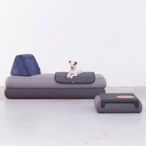bouroullec brothers design flat pack can sofa for hay