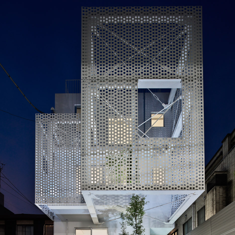 Perforated Metal Panels Architectural