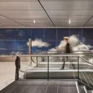 Daan Roosegaarde covers airport wall in clouds for Beyond installation