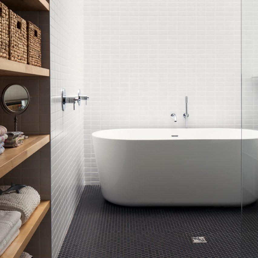 10 of the most popular bathrooms on Dezeens Pinterest boards