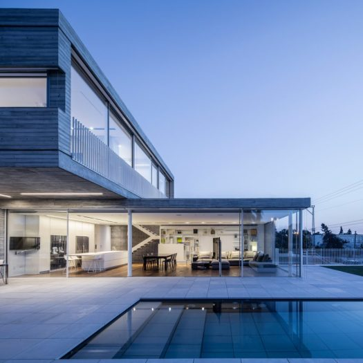 Dual House by Axelrod Architects