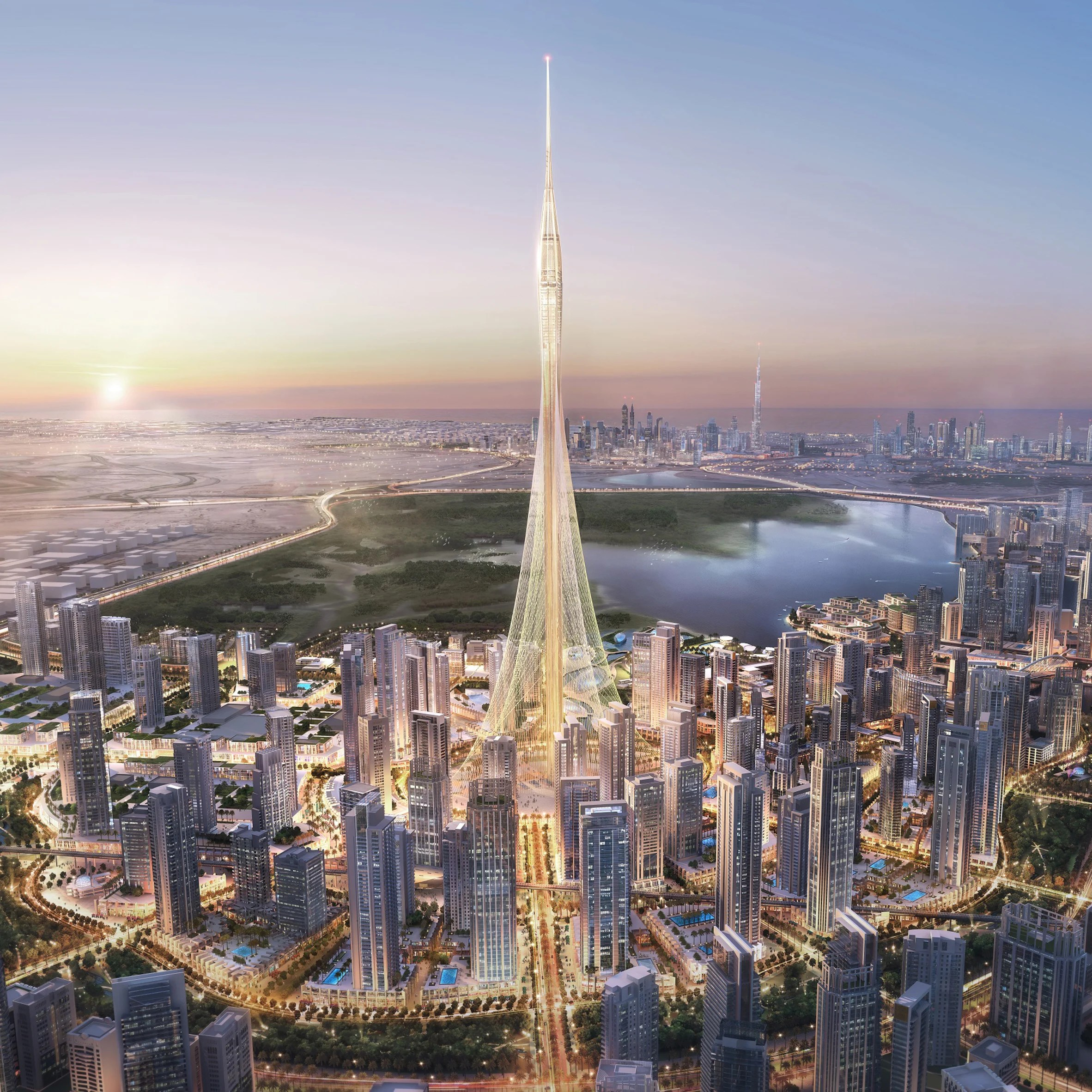 Calatravas Dubai Creek observation tower breaks ground