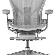 white aeron chair rawlings baseball herman miller updates iconic office