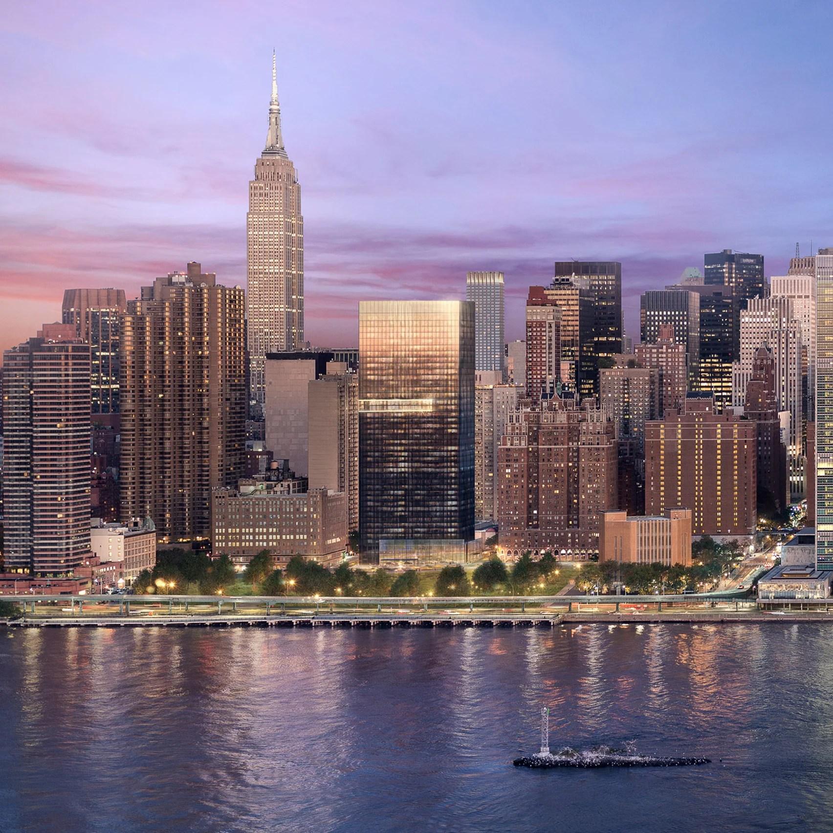 Black Tower New York City by Richard Meier & Partners