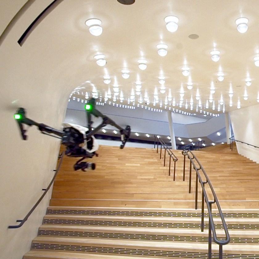 Elbphilharmonie Hamburg fly through Kai Heuser architecture video