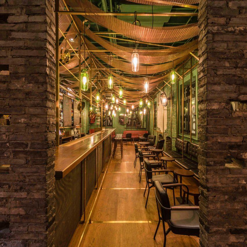 10 of the best bar interiors from Dezeens Pinterest boards
