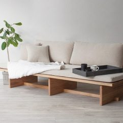 Minimal Sofa Design Images Of Indian Wooden Sets Hyung Suk Cho Updates Traditional Korean Elements For Blank Daybed Bases On And Paintings