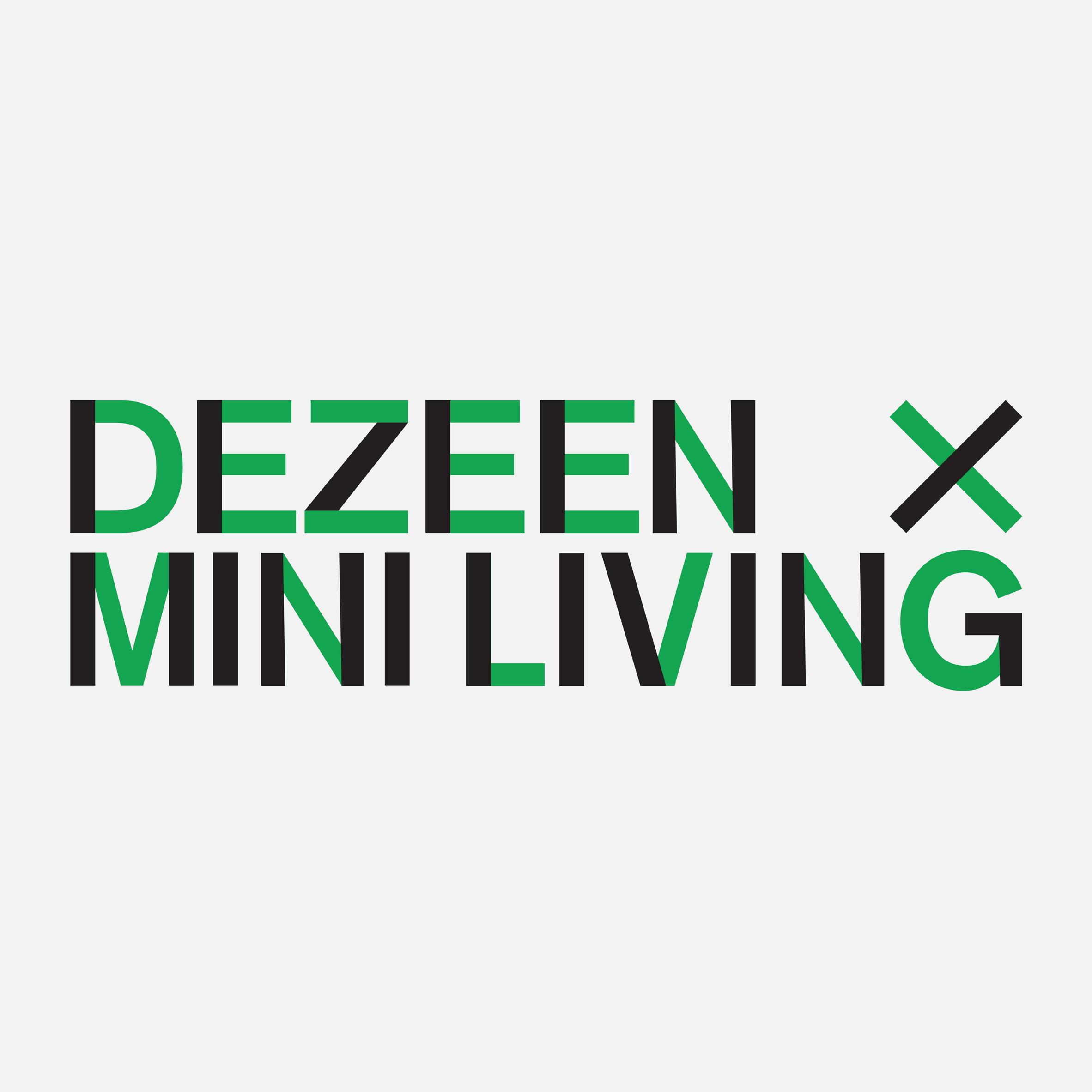 Dezeen x MINI Living Initiative logo
