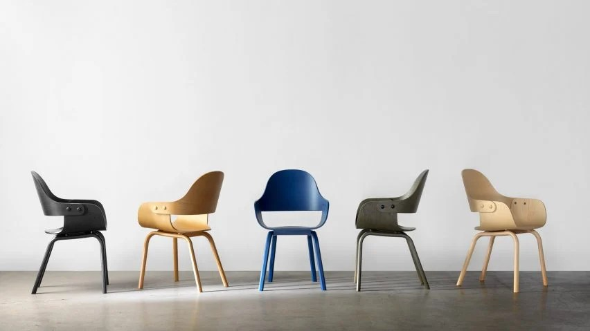 chair design bd swing wayfair jaime hayon s showtime furniture for barcelona now available in new finishes