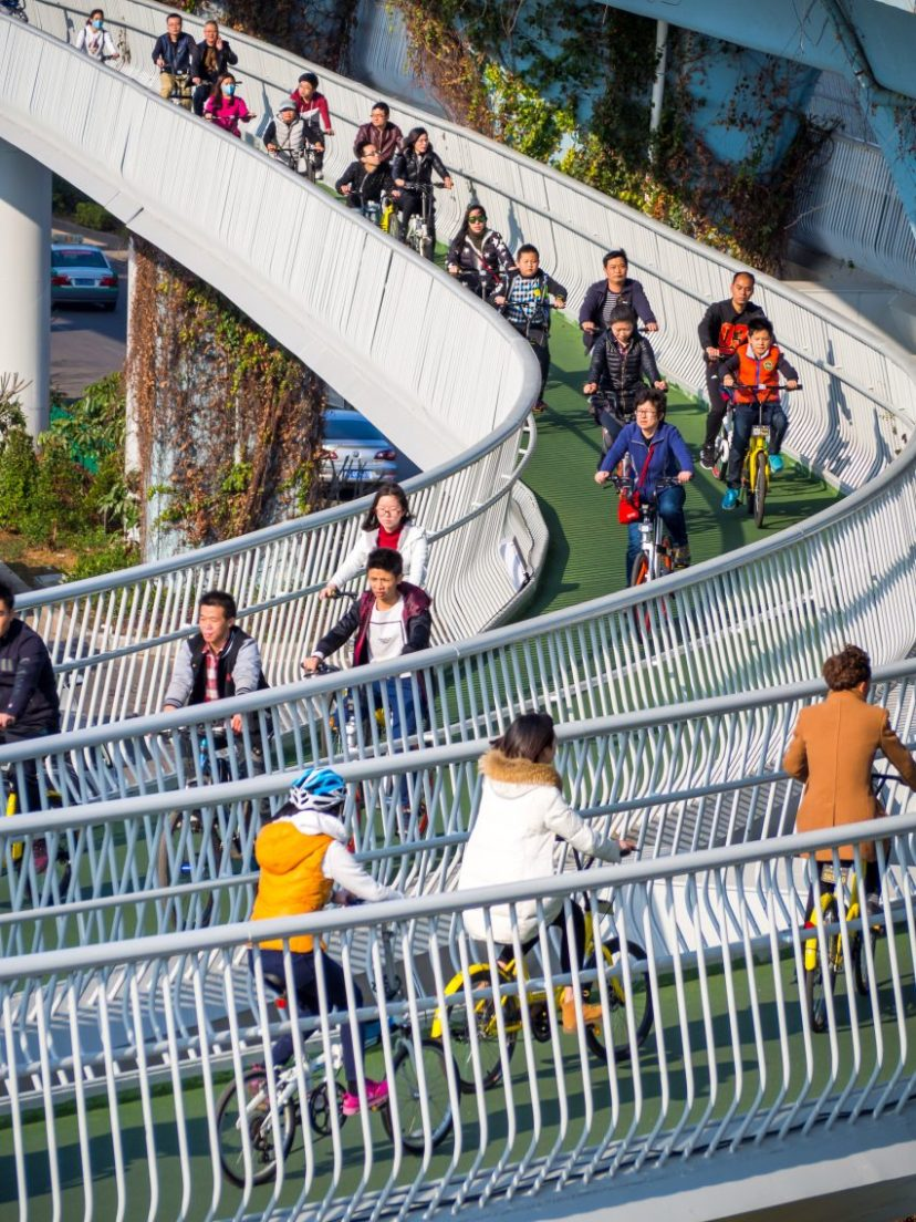 Xiamen Bicycle Skyway by DISSING+WEITLING