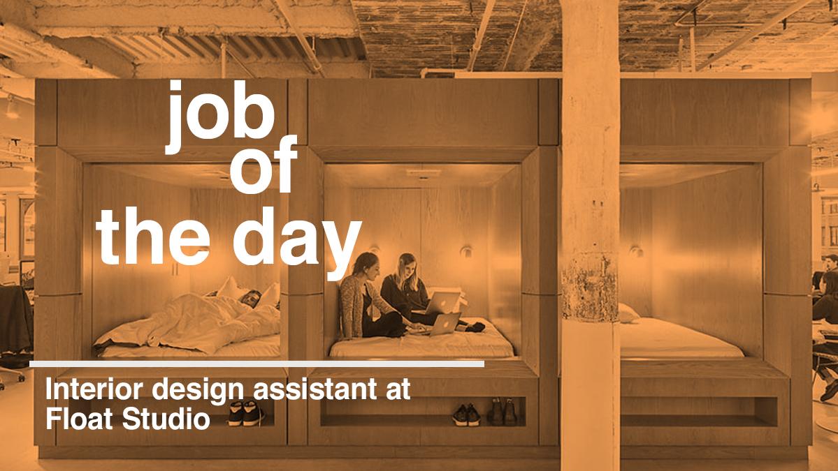 Interior Design Assistant Job