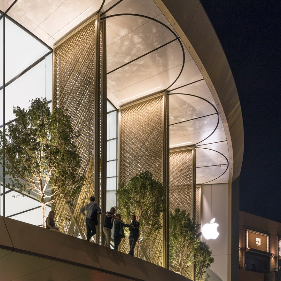 Apple Dubai Mall by Foster + Partners